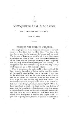 The New Jerusalem Magazine PDF