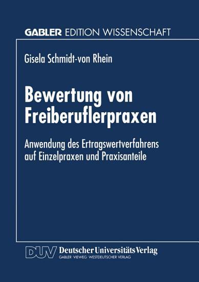 Bewertung von Freiberuflerpraxen PDF