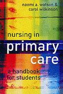 Nursing in Primary Care
