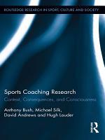 Sports Coaching Research PDF