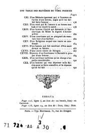 Les facèties de Pogge: tr. en franca̧is, avec le texte latin, Volume1