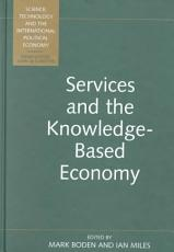 Services and the Knowledge based Economy PDF