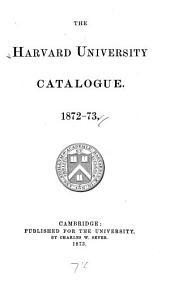 The Harvard University Catalogue
