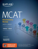 MCAT Biochemistry Review 2021 2022 PDF