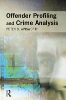 Offender Profiling and Crime Analysis PDF