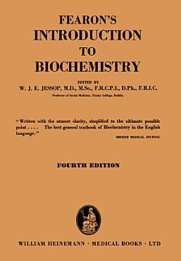 Fearon s Introduction to Biochemistry PDF