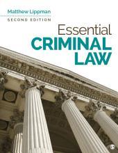 Essential Criminal Law: Edition 2