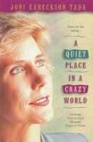 A Quiet Place in a Crazy World PDF