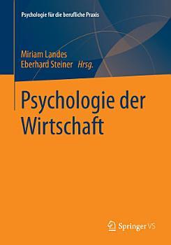 Psychologie der Wirtschaft PDF