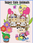 Super Cute Animals Coloring Book for Kids Vol  1 PDF