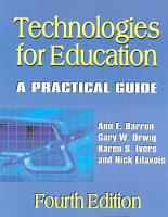 Technologies for Education PDF