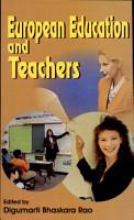 European Education and Teachers PDF