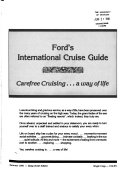 Ford s International Cruise Guide