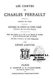 Les contes de Perrault: contes en vers