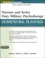 Veterans and Active Duty Military Psychotherapy Homework Planner   with Download  PDF