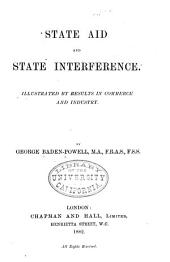 State Aid and State Interference: Illustrated by Results in Commerce and Industry