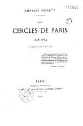 Les cercles de Paris, 1828-1864