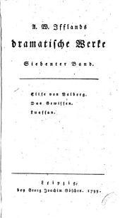 A. W. Ifflands dramatische werke: Band 13