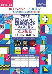 Oswaal CBSE Sample Question Paper Class 12 Economics Book  For Term I Nov Dec 2021 Exam  PDF