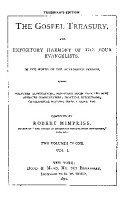 THE GOSPEL TREASURY  AND EXPOSITORY HARMONY OF THE FOUR EVANGELISTS  IN THE WORDS OF THE AUTHORIZED VERSION  PDF