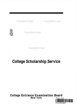 College Costs and Financial Aid Handbook  1995 PDF