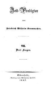 Zeit-Predigten: Volume 7