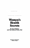 The Giant Book of Women s Health Secrets PDF