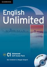 English Unlimited Advanced Self study Pack  Workbook with DVD ROM  PDF