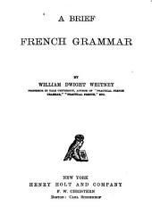 A Brief French Grammar
