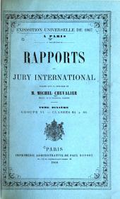Rapports du Jury international: Volume 10