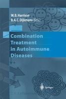Combination Treatment in Autoimmune Diseases PDF