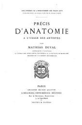 Précis d'anatomie à l'usage des artistes