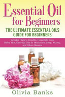 Essential Oil for Beginners Book