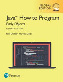Java How to Program  Early Objects  Global Edition PDF