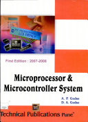 Microprocessors   Microcontroller Systems PDF