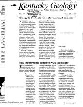 Kentucky Geology PDF