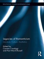 Legacies of Romanticism PDF