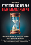 Strategies and Tips for Time Management