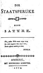 Die Staatsperücke: Eine Satyre