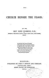 The Church Before the Flood