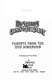 Parents from the 13th Dimension PDF