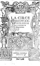 La Circe di Giouanbatista Gelli accademico fiorentino