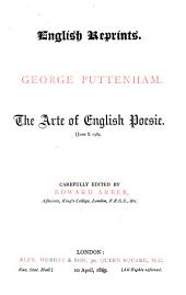 The Arte of English Poesie: (June?)1589