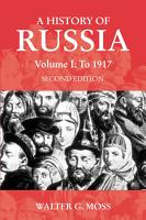 A History of Russia Volume 1 PDF