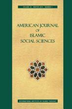 American Journal of Islamic Social Sciences 32 1 PDF