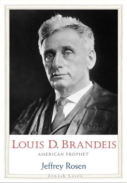 Download Louis D  Brandeis Book