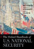 The Oxford Handbook of U S  National Security PDF
