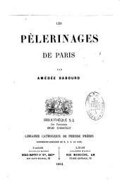 Les pèlerinages de Paris