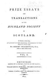 Transactions of the Highland and Agricultural Society of Scotland: Volume 2