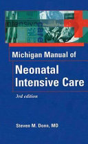The Michigan Manual of Neonatal Intensive Care PDF